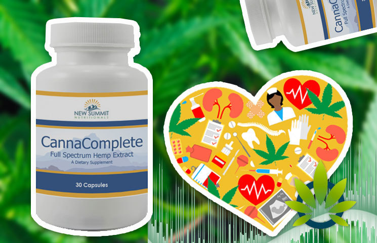 New Summit Nutritionals CannaComplete Available as a 'Superior Full-Spectrum' CBD Extract