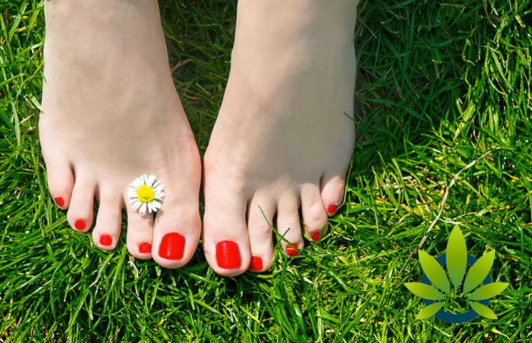 cannabinoids solution fungal foot infection
