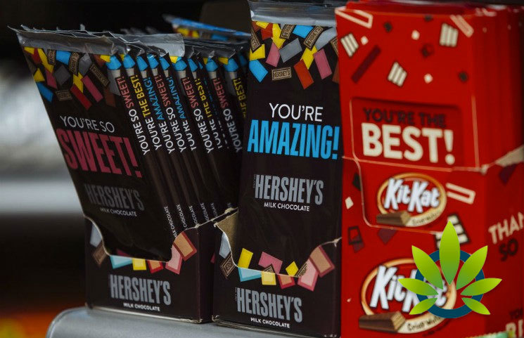 Candy Maker Hershey Has No Plans to Add CBD to its Prouct Line at this Point