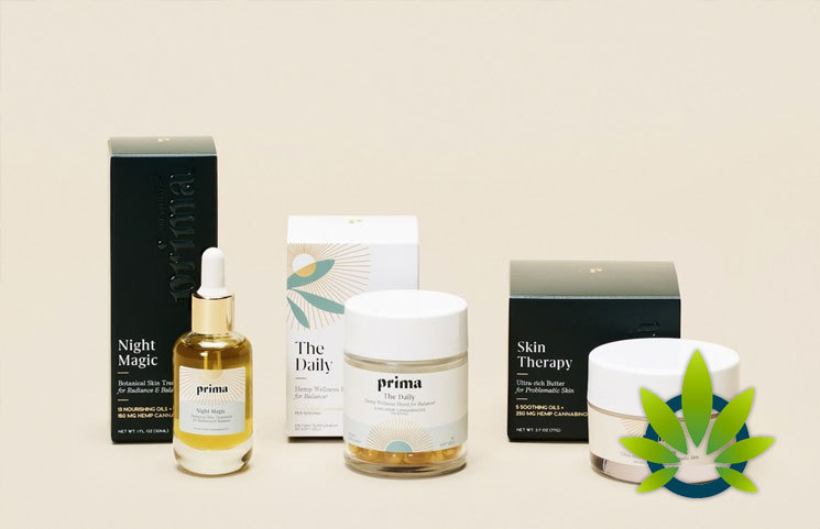 Prima Launches Three CBD Hemp Wellness Products; Night Magic, Skin Therapy and The Daily