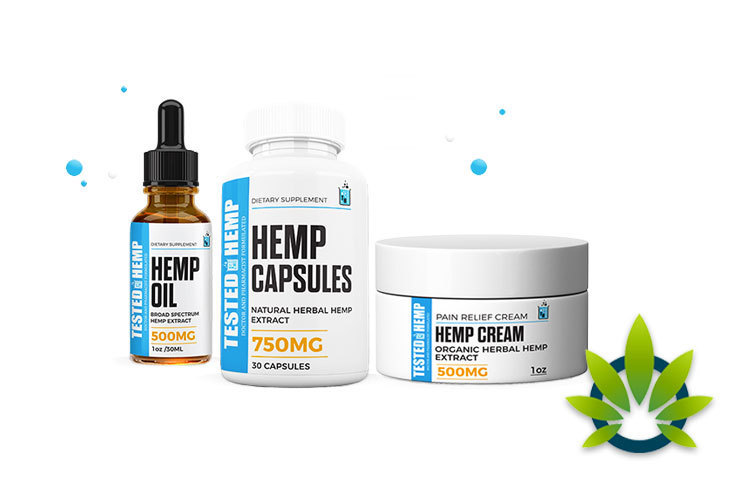 tested hemp natural herbal oil remedies for pain and beauty