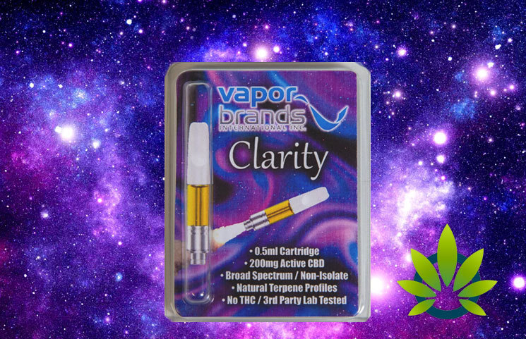 VaporBrands Announces New Clarity CBD Cartridge to Leverage Recent Successful Market Reentry
