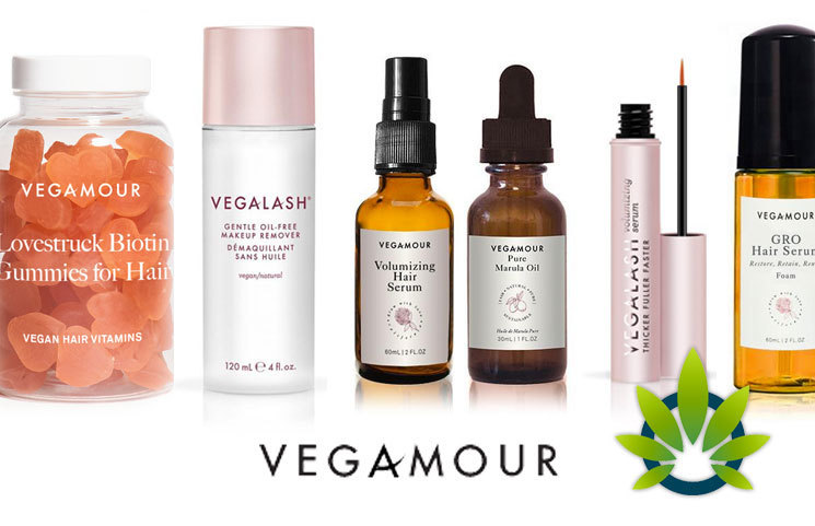 Vegamour CBD Lash, Brow, Hair Serums Launch Along with Cannabidiol Biotin Vegan Hair Gummies