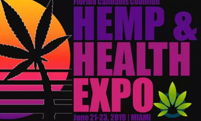 Marijuana Hemp and Health Expo is June 22, 2019 in Miami, Florida to Celebrate Cannabis