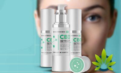 Skin Science CBD: Safe Herbal Anti-Aging Cannabidiol Skincare Serum?