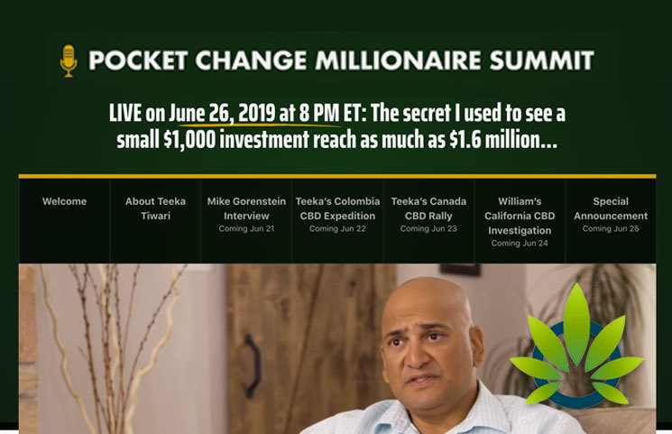 Pocket Change Millionaire Summit: Teeka's Cannabis and CBD