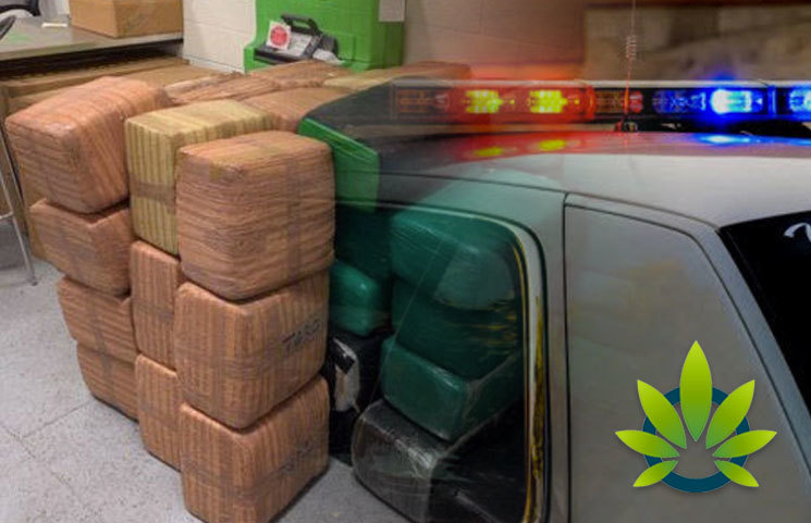1,200 Pounds of Marijuana Seized by Los Angeles Port Police at Cabrillo Beach