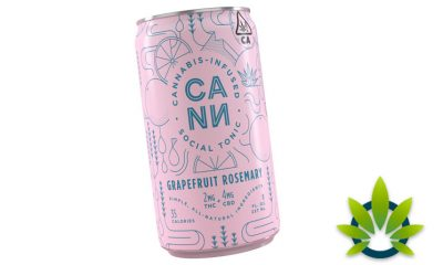 Cann Cannabis-Infused Social Tonic Drink with THC and CBD Ingredients Now Available