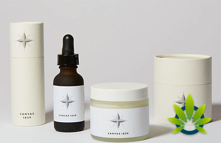 Canvas 1839 Hemp Relief Solutions: CBD Oil and Pain Relief Skin Cream