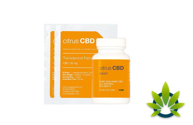 Citrus CBD: Pure Non-Hemp CBD from Lichen and Orange Peel Extract