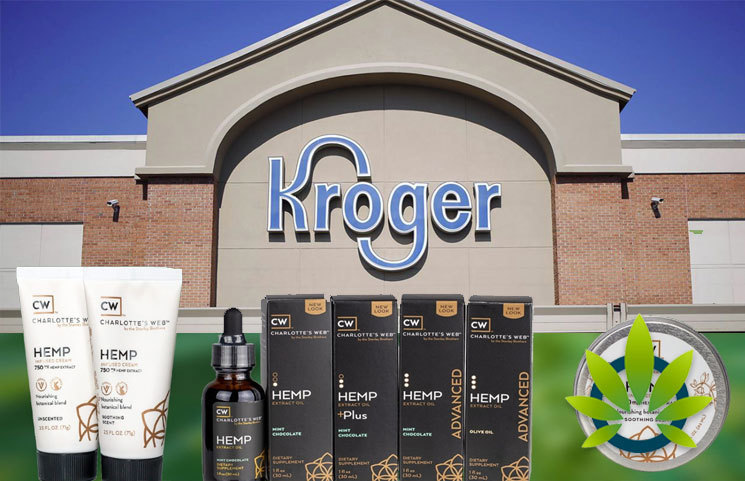 Kroger to Offer Charlottes Web Topical Hemp CBD Products to Over 1,300 Stores in 22 States