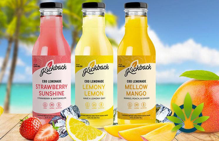 New Kickback CBD Lemonade Drink Line Launches as Vegan Beverage Option