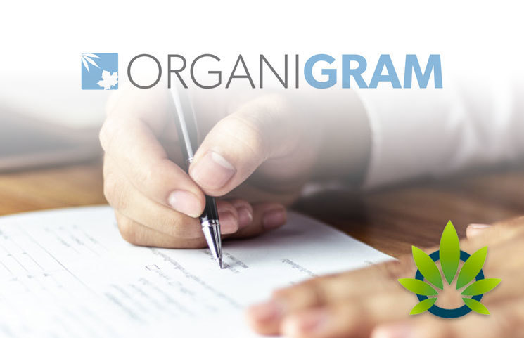 Organigram Enters Into Agreement for Accesses to 60,000kg of CBD Hemp