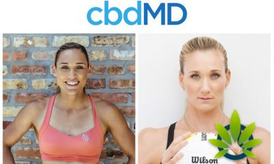 CBD Company cbdMD Expands Partnerships with Olympic Athletes Lolo Jones and Kerri Walsh