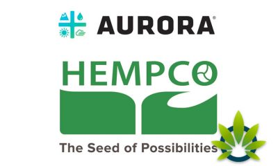 Aurora Cannabis Finalizes Purchase of Hempco Food and Fiber Inc. Common Shares