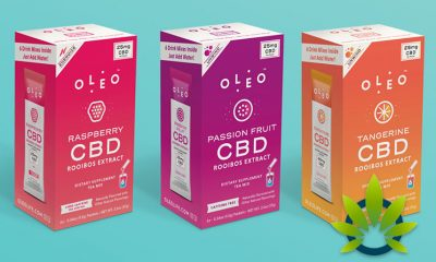 CBD-Infused Drink Mix Maker OLEO Raises $1.5 Million in Convertible Note Round