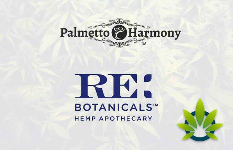CBD Manufacturers, Palmetto Harmony and RE Botanicals, to Merge for Countrywide Expansion