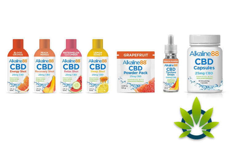 Alkaline Water Company and Centuria Foods Partner for CBD
