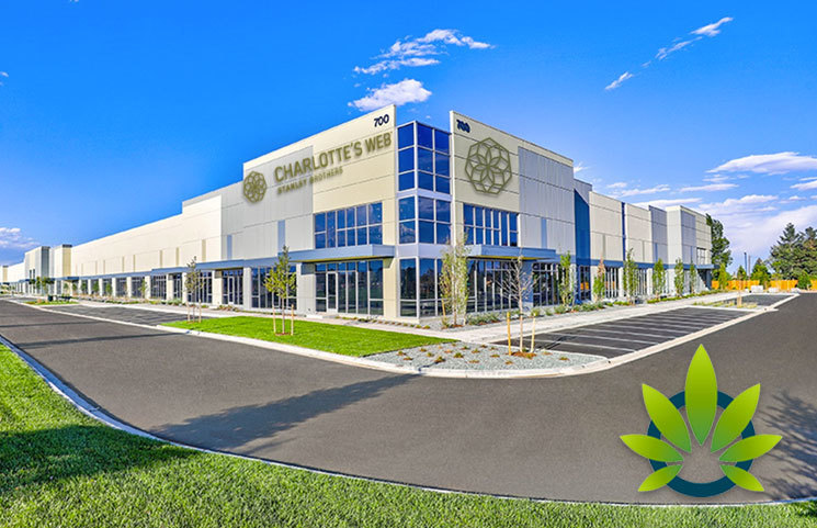 Hemp CBD Leader Charlotte's Web Continues Expansion with 137,000 Square-Foot Manufacturing Facility