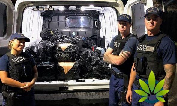Coast Guard Acts on Tip, Discovers 1,300 Pounds of Marijuana at Sea Near Catalina Island