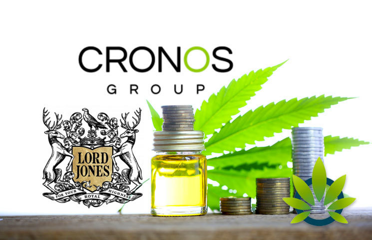 Cronos Acquires Parent Company of CBD Brand Lord Jones, Redwood, for $300 Million