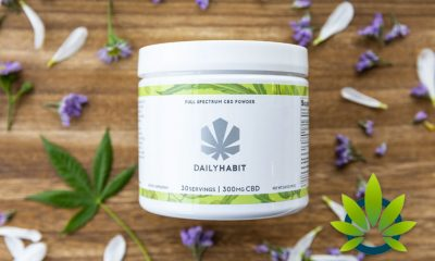 Daily Habit CBD: Full Spectrum CBD Powder from Organic Hemp with MCT Oil