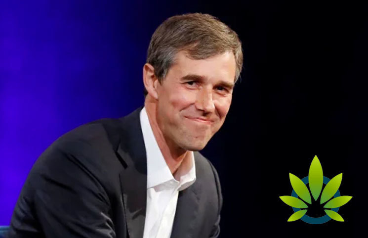 Democratic Presidential Candidate, Beto O'Rourke Gets an A+ for His Marijuana Stance
