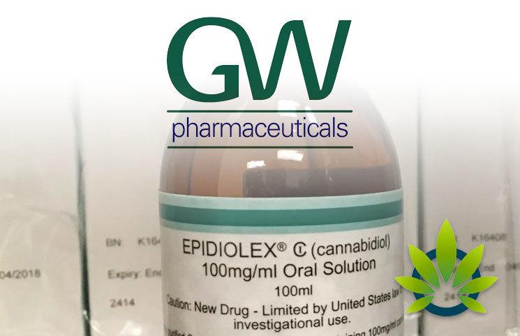 GW Pharmaceuticals Records $72 Million Revenue for the Sale of CBD Drug Epidiolex