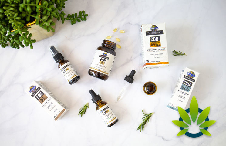 Garden of Life's New Line of CBD Products (Drops, SoftGels and Spray
