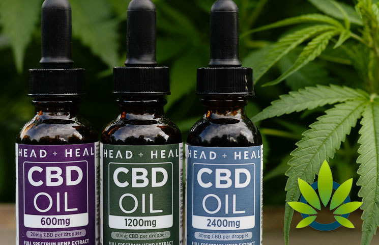 Head and Heal: CBD Oil Tinctures, Softgels, Topicals and Pets Products
