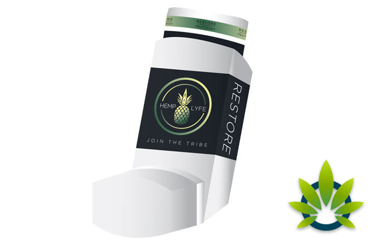 Hemp Lyfe: Bliss CBD-Infused Products Including Inhaler and Dried Fruits