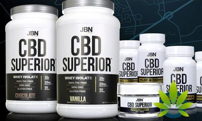 JBN CBD Superior Series: Just Be Natural Launches Cannabidiol-Infused Supplements