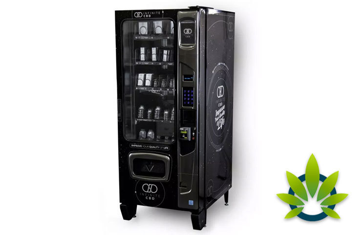 Lakewood, Colorado Company Infinite CBD Looking to use CBD Vending Machines in North Dakota