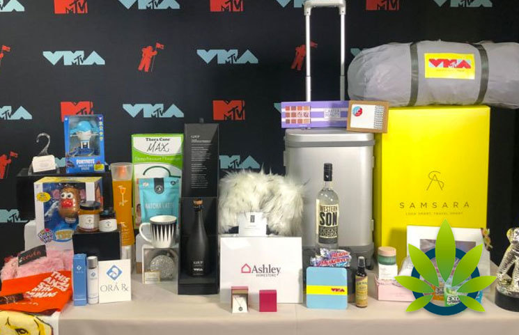 MTV Video Music Awards (VMA) Swag Bag to Feature CBD Lotion and Skincare Products