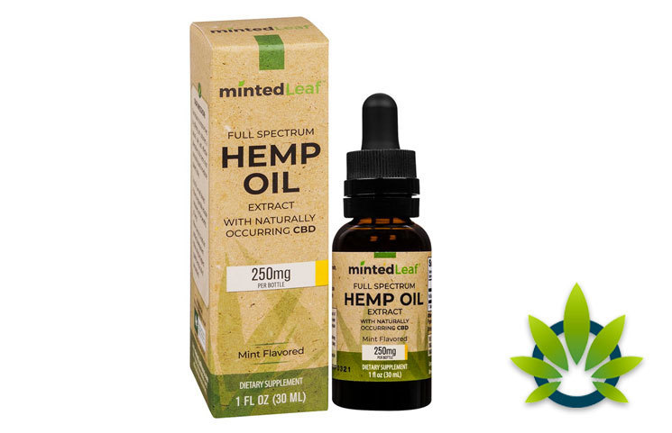 Minted Leaf: Full Spectrum CBD Hemp Oil Extract and Pain Relief Products