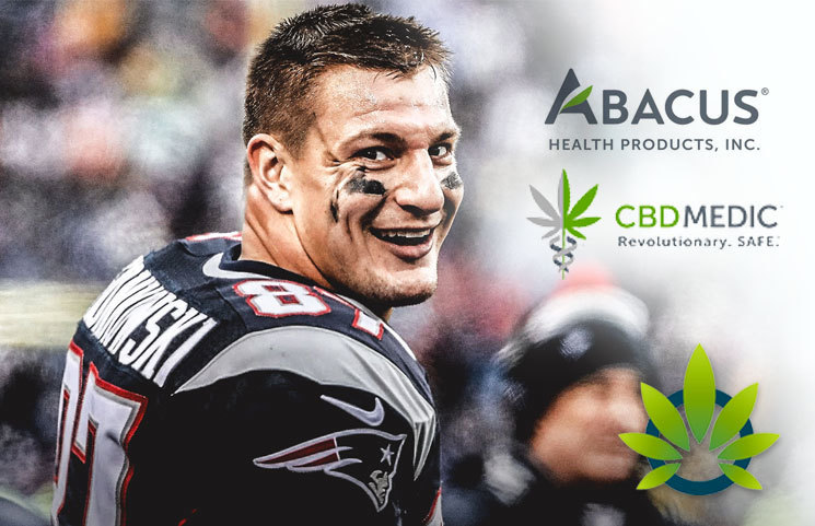 Rob Gronkowski Talks Abacus Health's CBDmedic CBD Cream Products on Fox Business, Yahoo Finance