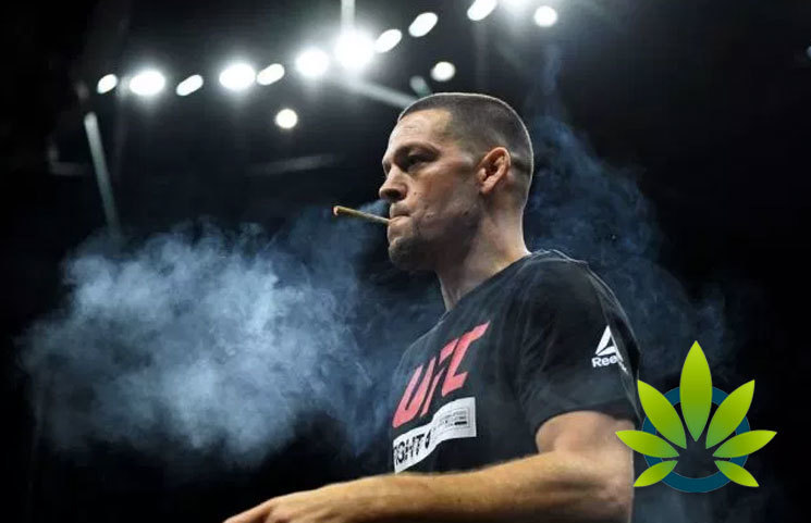 Nate Diaz Lights Up, Smokes Another CBD Joint in UFC 244 Training Preparation Against Jorge Masvidal
