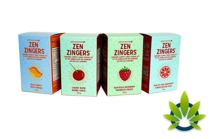 Paracanna Offers Make-Your-Own Cannabis Gummy Kits 'Zen Zingers'