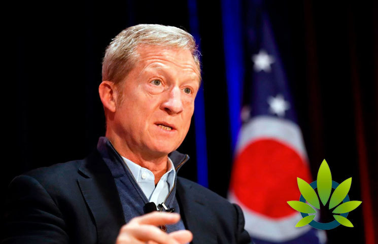 Presidential Candidate Tom Stever Reports Trouble in Financing Cannabis Businesses