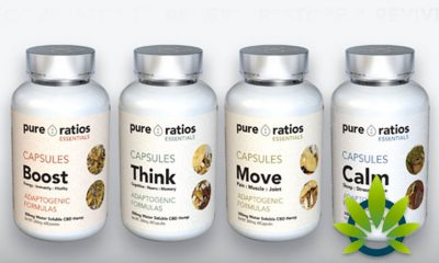 Pure Ratios' Launches New CBD Hemp Product Line; Move, Calm, Think and Boost