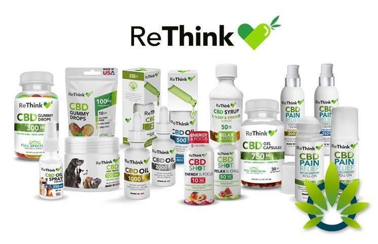 ReThink CBD Expands Pharmaceutical-Grade Cannabidiol Products Distribution in 10,000 Pharmacies
