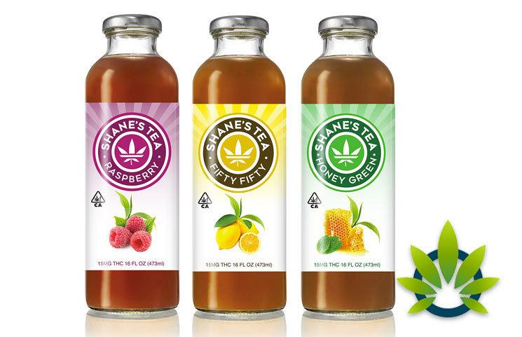 Shane's Tea: Natural Organic Cannabis Oil Tea Blends with Multiple Flavors