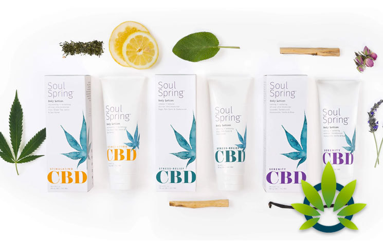 SoulSpring CBD Botanical Therapy: Body Lotions, Creams, Rubs and Bath Bomb Soaks
