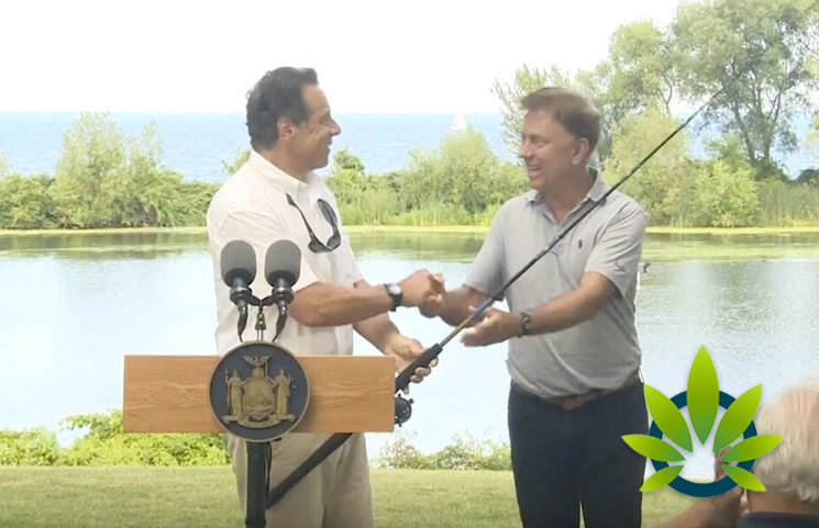 NY and CT State Governors Discuss Legal Marijuana Regulation on Fishing Trip