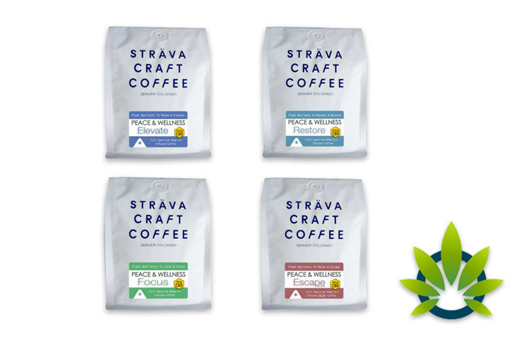 strava craft coffee cbd oil infused coffees