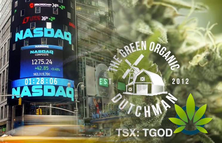 The Green Organic Dutchman (TGOD) Awaits Application Approval From NASDAQ