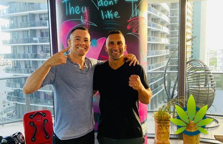 UFC Welterweight Star Colby Covington, Cannafornia Come Together to Fight Opioid Dependence