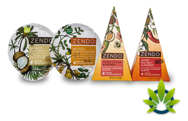 Zendo Edibles: Natural Cannabis-Infused Almonds and Coconut Oil