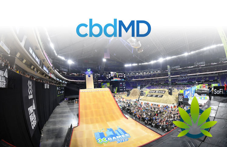 Leading CBD Company cbdMD Sees Team Success at 2019 X Games Minneapolis