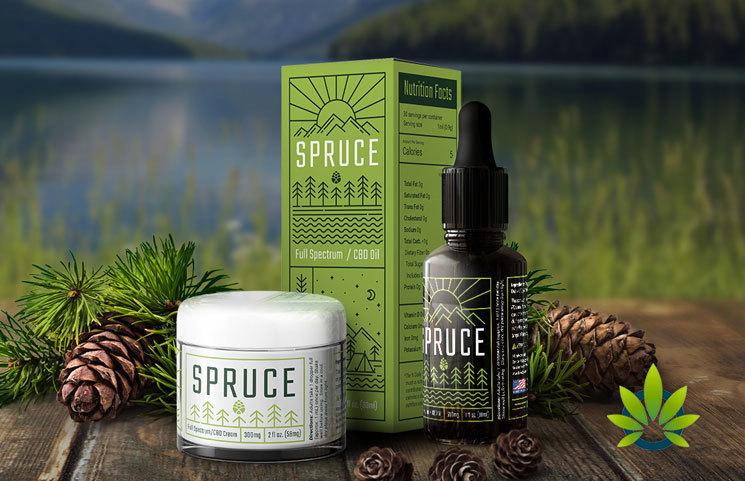 spruce cbd brand